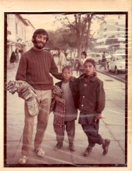 My last big road trip was in 1975-76, when I traveled across Asia, Africa and Europe with my friend. This photo was taken in ... wait for it ... Kabul, Afghanistan.