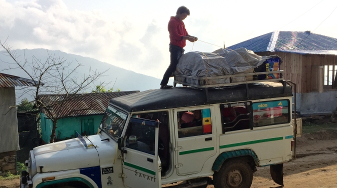 Nepal's Death-Defying Taxi